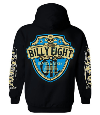Sweat capuche Billy Eight fermeture zip  -*- Tracks-Street -*-