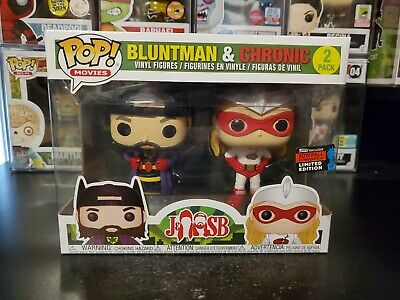 Funko Pop! Jay and Silent Bob Bluntman and Chronic 2 Pack 2019 NYCC Exclusive