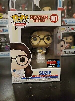 Funko Pop Television Stranger Things Suzie #881 2019 NYCC Exclusive W/ PROTECTOR