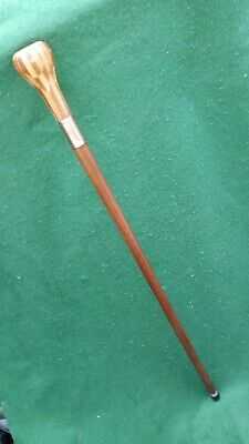 Hand made Walking Stick / Cane with cambridgeware style chequered top