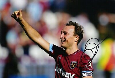 Mark Noble Signed 12X8 Photo West Ham United GENUINE SIGNATURE AFTAL COA (1740)
