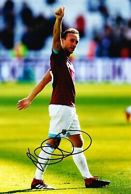 Mark Noble Signed 12X8 Photo West Ham United GENUINE SIGNATURE AFTAL COA (1905)
