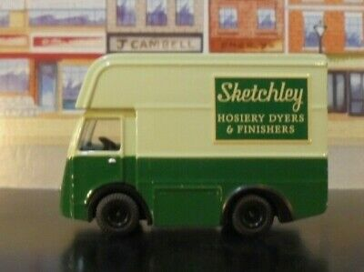 "NCB  ELECTRIC Van ""SKETCHLEY""  DYERS & FINISHERS LIVERY 1/76 OOgauge Trackside"