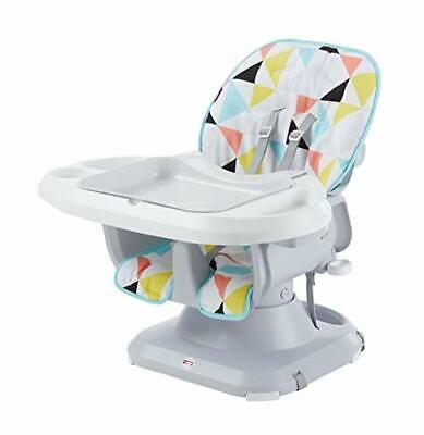Fisher-Price SpaceSaver High Chair, Multicolor for baby, NEW