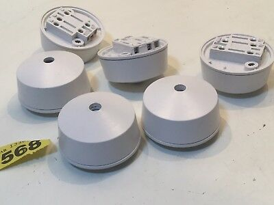 6 * Hager 4-Pin Ceiling Rose Round sockets