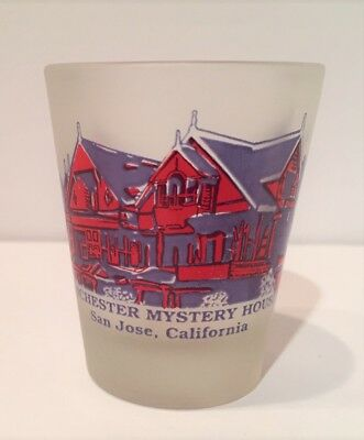 Shot Glass Winchester Mystery House Frosted