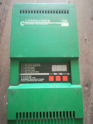 AC Motor Inverter Drive by Control Techniques 7.5KW Commander CD750