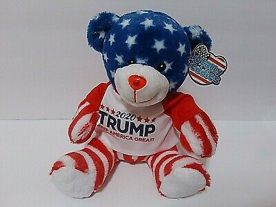 MAGA Make America Great Again Donald Trump 2020 Keep America Great Teddy Bear