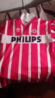 maglia PSV Eindhoven size XL chest 58 cm football trikot shirt camiseta maillot