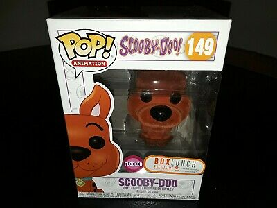 Funko Pop! Animation Flocked Scooby Doo Orange Box Lunch Exclusive Box Flaws #1