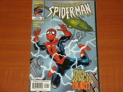 Marvel Comics:  THE SPECTACULAR SPIDER-MAN #254 Feb. 1998   Peter Parker