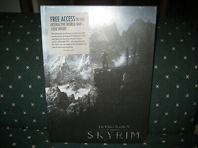 The Elder Scrolls V: Skyrim collector's edition strategy guide Prima NEW dents