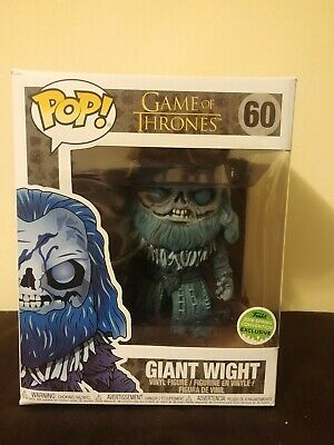 Funko Pop Game of Thrones Giant Wight #60 2018 Spring Convention Exclusive