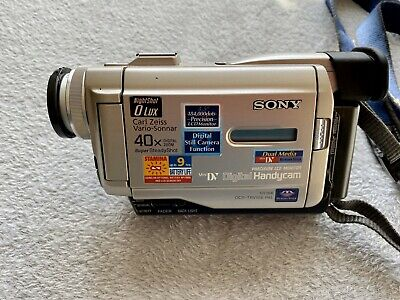 Sony Handycam DCR-TRV10E Camcorder Mini DV Digital Tape Video Camera