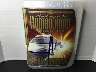Anatomy of the Human Mind Congress L Ron Hubbard Lectures Scientology Audio CD