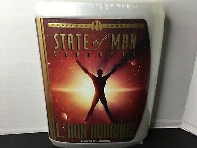 State of Man Congress L Ron Hubbard Lectures Scientology Audio CD