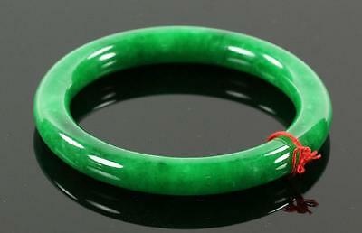 An Excellent Antique Chinese Apple Green Jade/Jadeite Bangle.