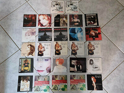 lot 27 cd single / 2 titres / digipack Mylène Farmer (dont 8 neufs)