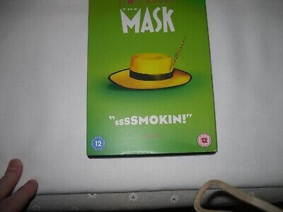 The Mask [DVD] [2016]  DVD ~ Jim Carrey CULT CLASSIC COMEDY VGC FREEPOST