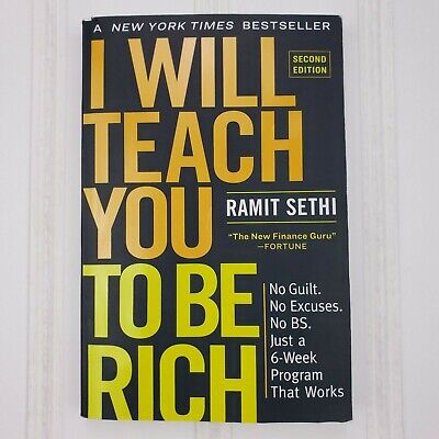 I Will Teach You to Be Rich by Ramit Sethi (2019, Paperback) 9781523505746 Book