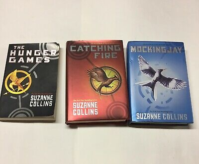 Hunger Games Triligy Book Set 1 2 3 Mixed Paperback Hardcover Suzanne Collins