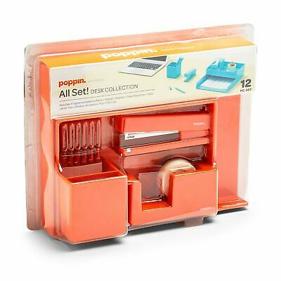 Poppin All Set 12-Piece Desk Collection