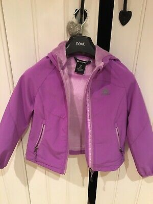 Girls Pink Waterproof Jacket Age 5-6yrs