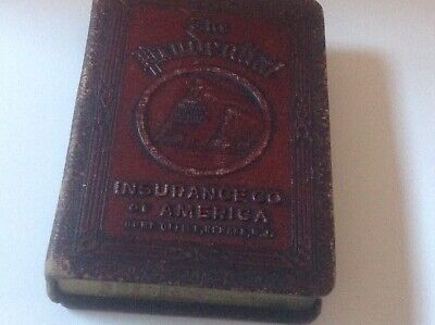 Vintage coin book bank Prudential Insurance Co.