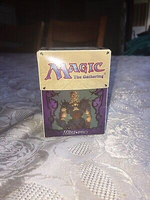 MTG- Commander Greven il-Vec / Avenging Angel -Ultra•Pro 1997 Deck Box-{Vintage}