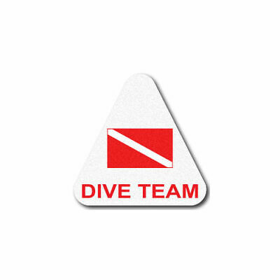 3M Reflective Fire/Rescue/EMS Triangle Decal - Dive Team
