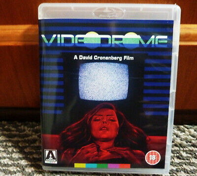 VIDEODROME UNCUT Blu Ray ARROW DEBORAH HARRY Halloween Horror