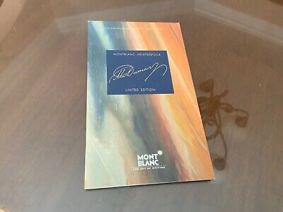Montblanc Alexandre Dumas Warranty Reply Card Warranty Booklet Documents