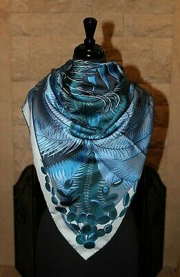 Authentic Hermes Cheval Phoenix 140 GM Silk Shawl Scarf