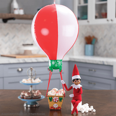 NEW 2019 Elf On The Shelf Scout Elves At Play Peppermint Balloon Ride Accessory