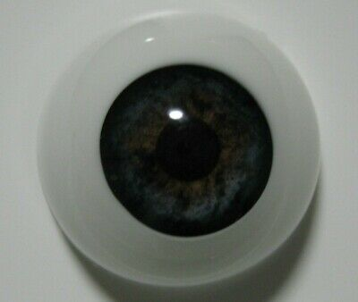 Reborn doll eyes 20mm Half Round  BLUEBERRY