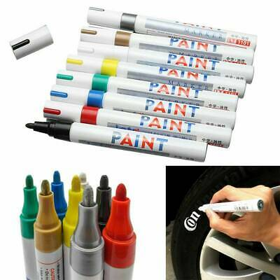 Waterproof Permanent Paint Marker Pen Candy Color For Car Tyre Tire Rubber Metal