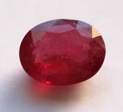 11,14 ct  Rubis du Mozambique traité