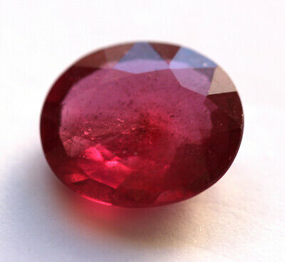 8,23 ct  Rubis du Mozambique traité