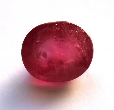 6,77 ct  Rubis du Mozambique traité