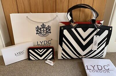 LYDC Designer Bag and Matching Purse Set with Gift Box