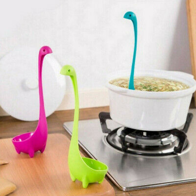 Dinosaur Spoons Soup Loch Ness Ladle Monster Nessie Spoon Kitchen Supplies