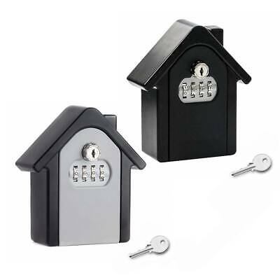 4 Digit High Security Outdoor Wall Mounted Key Safe Box Code Secure Lock Storage