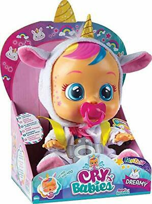 Cry Babies Dreamy Unicorn Real Magic Kids Toddler Baby Tears Fantasy Toy Doll