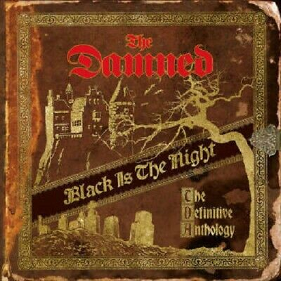 THE DAMNED BLACK IS THE NIGHT PRESALE NEW COLOURED VINYL 4LP OUT 1st NOVEMBER