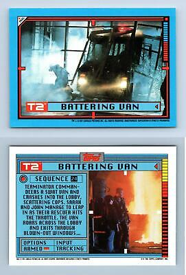Terminator Gets Back Up #24 T2 Terminator 2 Impel 1991 Trading Card