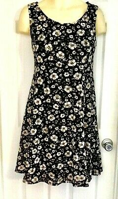 Perceptions New York Dress Size Xl Floral Lace Knit Fit