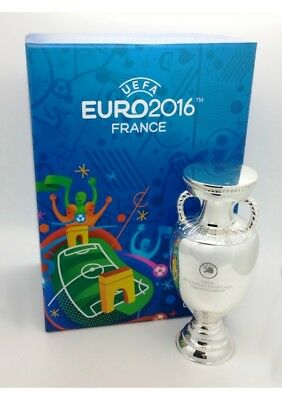 Official UEFA Euro France 2016 Subbuteo Trophy Replica - 80mm in Gift Box * NEW*