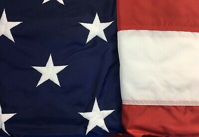 6' x 10' Valley Forge Perma-Nyl 50-Star American Flag Nylon - Made in USA