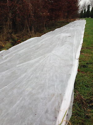 1.5m x 50m 35gsm Yuzet Frost Protection Fleece Winter Plant Cover Shrubs Crops