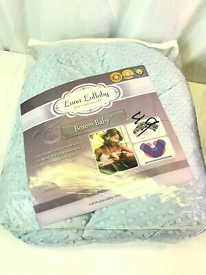 Brand New In Package Luna Lullaby Bosom Baby Blue Pillow